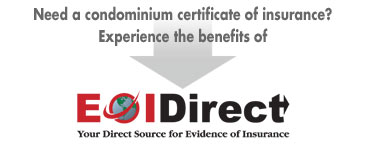 Visit EOIDirect.com for Condominium Certificates of Insurance